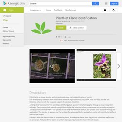 PlantNet Plant Identification