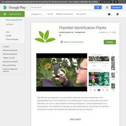 PlantNet : Identification Plantes