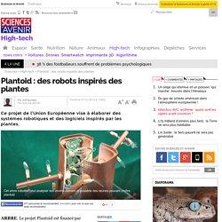 Plantoid : des robots inspirés des plantes