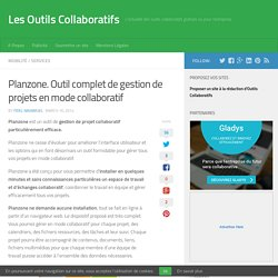 Planzone. Outil complet de gestion de projets en mode collaboratif