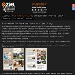 Création de plaquette flyer infographiste freelance pas cher en Vendée