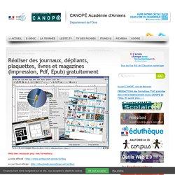 Réaliser des journaux, dépliants, plaquettes, livres et magazines (Impression, Pdf, Epub) gratuitement