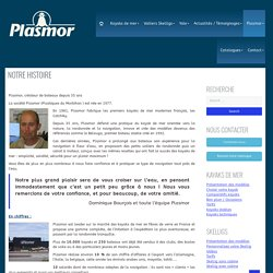 Plasmor Notre histoire - Plasmor