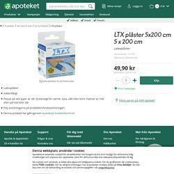 LTX plåster - Handla direkt på Apoteket.se