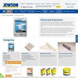 Extensive Plastering & Plasterboard Range