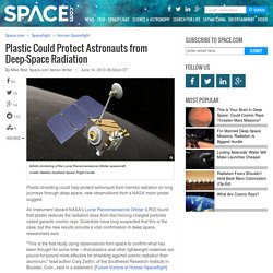 Plastic Could Protect Astronauts from Deep-Space Radiation