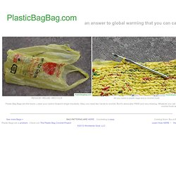 Plastic Bag Bags are where its at. - StumbleUpon