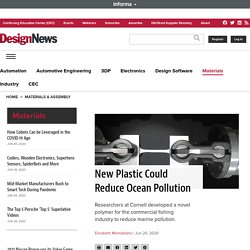 New Plastic Could Reduce Ocean Pollution