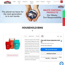 Best Plastic Dustbin Manufacturer in India - Vectus