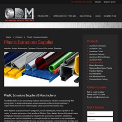 Plastic Extrusion Molding Products and Suppliers - OD Metals