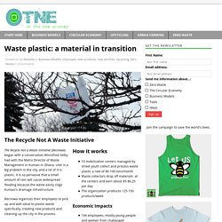 Waste plastic: a material in transition