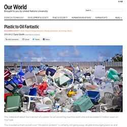 Plastic to Oil Fantastic