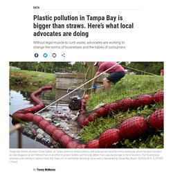 Plastic pollution in Tampa Bay is bigger than straws. Here's what local advocates are doing