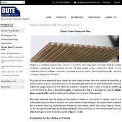 Plastic Surface Protection Film - DUTE