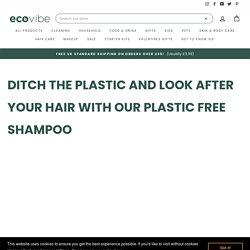 Best Plastic Free Shampoo Bar and Conditioner UK