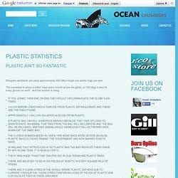 Plastic Statistics