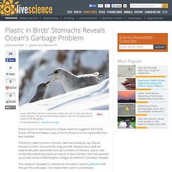 Plastic in Bird's Stomachs Reveals Ocean's Garbage Problem