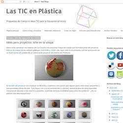 Las TIC en Plástica: Ideas para proyectos: Arte en la solapa