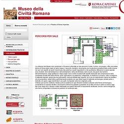 Plastico di Roma imperiale / Percorsi per sale - Museo della Civiltà Romana