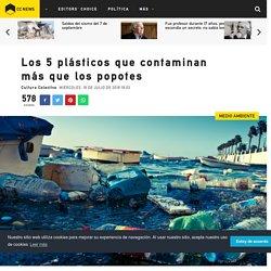 Los 5 plásticos que contaminan más que los popotes - Medio Ambiente