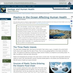 Plastics in the Ocean Affecting Human Health