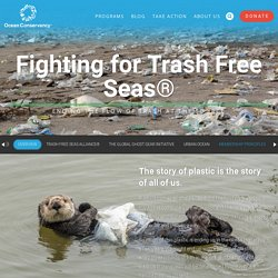 Plastics in the Ocean - Ocean Conservancy