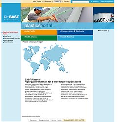 BASF Plastics Portal - Global Homepage