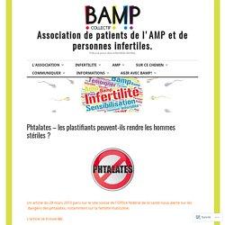 CONFEDERATION SUISSE 28/03/13 Phtalates - les plastifiants peuvent-ils rendre les hommes stériles ?