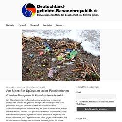 Am Meer: Ein Spülsaum voller Plastikteilchen - Deutschland-geliebte-Bananenrepublik.de