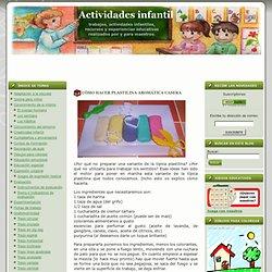 CÓMO HACER PLASTILINA AROMÁTICA CASERA