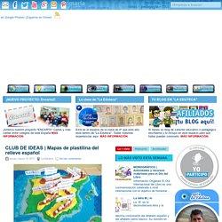 Mapas de plastilina del relieve español