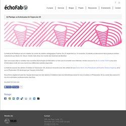 échoFab » Art Plastique; un festival autour de l'impression 3D