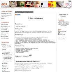 Arts Plastiques - Académie de Grenoble - Sixième - Folles créatures