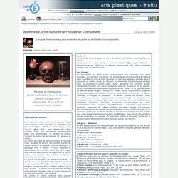 allégorie de la vie humaine de Philippe de Champaigne