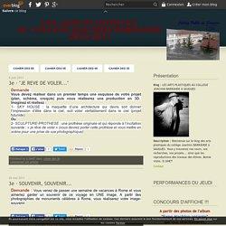 cahier des 3e - LES ARTS PLASTIQUES AU COLLEGE JOACHIM BARRANDE A SAUGUES