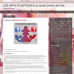 LES ARTS PLASTIQUES au lycée Comte de Foix: Concours dessin de presse