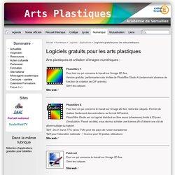 Logiciels gratuits pour les arts plastiques - Site des professeurs d'Arts plastiques de l'académie de Versailles