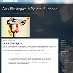 Arts Plastiques à Sainte Pulchérie: octobre 2014