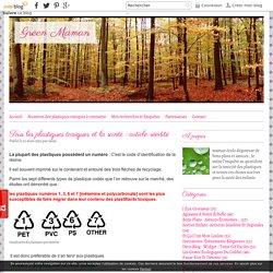 Tous les plastiques toxiques et la santé : article réédité