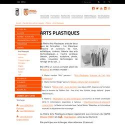 Arts Plastiques - Université Jean Monnet