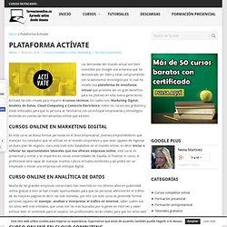 Plataforma Actívate, formate con Google