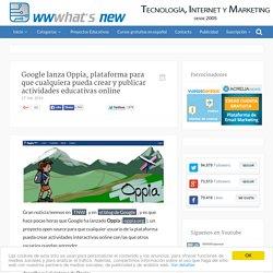 Google lanza Oppia, plataforma para que cualquiera pueda crear y publicar actividades educativas online