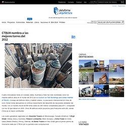 CTBUH nombra a las mejores torres del 2012