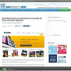 Yudu Media lanza su plataforma de creación de libros de textos digitales