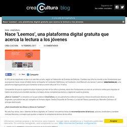 Nace 'Leemos', una plataforma digital gratuita que acerca la lectura a los jóvenes