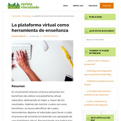 La plataforma virtual como herramienta de enseñanza