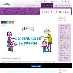 Plataforma de Infancia DERECHOS DE INFANCIA - Plataforma de Infancia