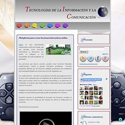 Oppia. Plataforma para crear lecciones interactivas online.