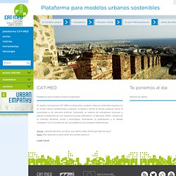 CAT-MED | Change Mediterranean Metropolises Around Time