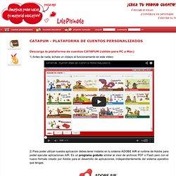 Catapum - Platforma personalizirane priče - Lola Editions Pirindola
